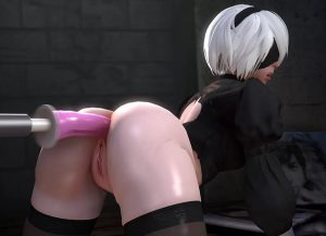 2b anal sex machine - nier rule 34