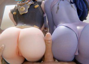 Tracer and widowmaker buttjob - Overwatch 3D Hentai
