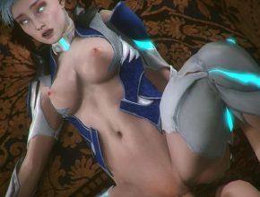 Perky tits and tight pussy - Mortal Kombat 11 3D porn
