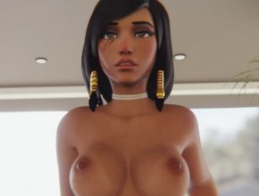 Pharah pov riding a thick cock - Overwatch 3D Hentai Video