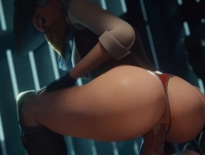 Overwatch 3D Hentai - Ashe's pussy almost creampied