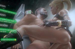 Cassie Cage 3D porn