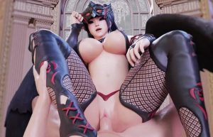 big tits from dead or alive hentai