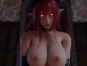 3D Hentai animation - Busty Succubus