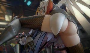 Mercy and widowmaker 3d hentai