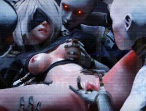 Nier Automata 3D Hentai clip - 2B wet pussy orgasm