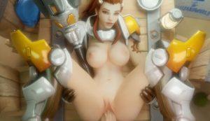 Brigitte Lindholm 3D porn