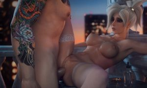mercy anal sex 3d hentai from overwatch