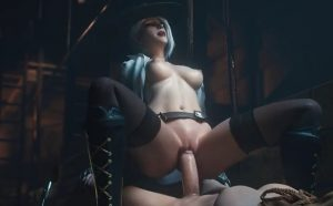 Ovewatch 3D porn - Ashe creampie video