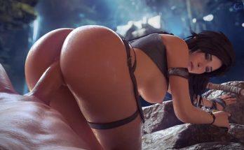 Lara Tomb raider free 3D porn video
