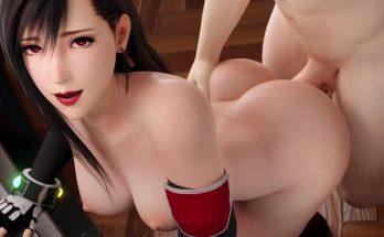 Thick ass Tifa Lockhart 3D hentai