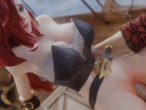 League of Legends 3D hentai - Miss Fortune