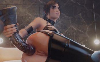 Lara Croft Anal Masturbation - Tomb Raider 3D porn animation